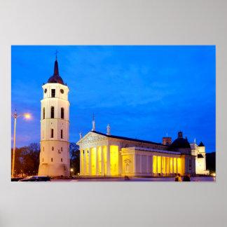 Vilnius-Kathedrale Poster