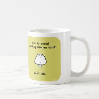 Vimrod VM8643 Idiot sprechen nicht Kaffeetasse