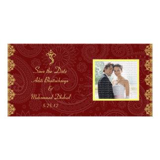 Vinayaka, das Save the Date Foto-Karten Wedding is Bildkarten