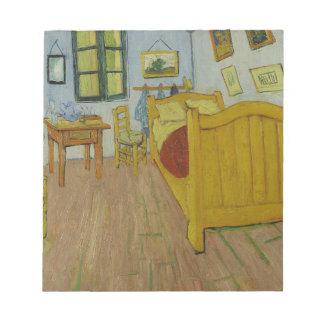 Vincen Van Gogh - Schlafzimmer in Arles Malerei Notizblock