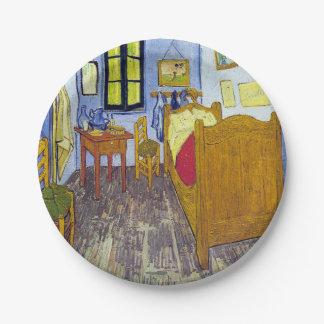 Vincent van Gogh 1888 das Schlafzimmer bei Arles Pappteller