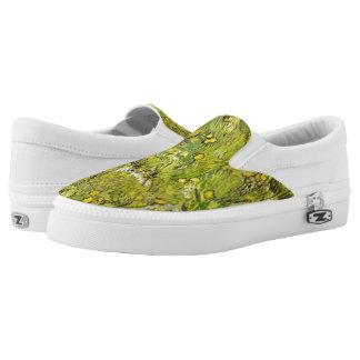 Vincent van Gogh 1889 ein Feld der gelben Blumen Slip-On Sneaker