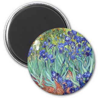 Vincent van Gogh 1889 Iris Runder Magnet 5,7 Cm