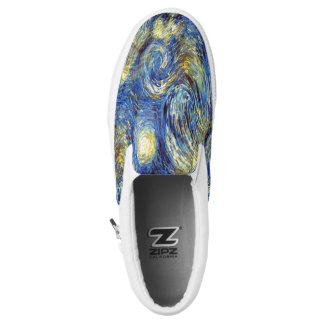 Vincent van Gogh 1889 sternenklare Nacht Slip-On Sneaker