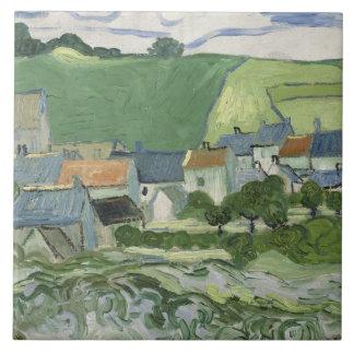 Vincent van Gogh - Ansicht von Auvers Fliese