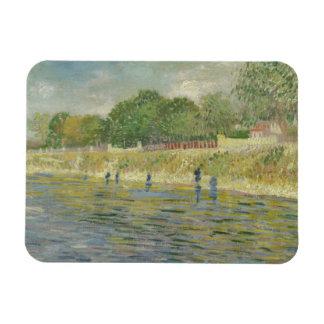 Vincent van Gogh - Bank der Seines Magnet