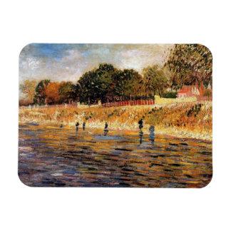 Vincent van Gogh - Banken der die Seine-schönen Magnet