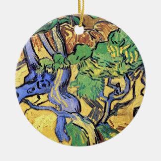 Vincent van Gogh - Baum-Wurzel-und Stamm-schöne Keramik Ornament