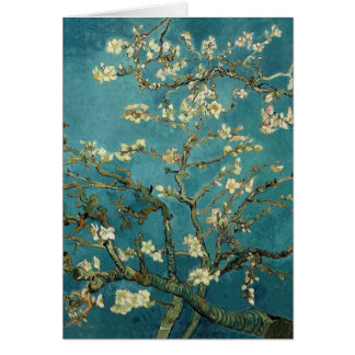 Vincent van Gogh - blühender Mandelbaum Karte