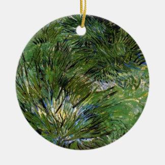 Vincent van Gogh - Büschel der Gras-schöner Kunst Keramik Ornament