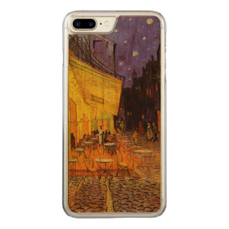 Vincent van Gogh-Café-Terrasse an der Nachtschönen Carved iPhone 8 Plus/7 Plus Hülle