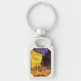 Vincent van Gogh-Café-Terrasse an der Nachtschönen Schlüsselanhänger