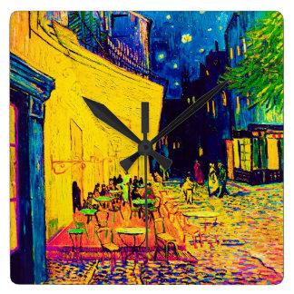 Vincent van Gogh - Café-Terrasse an der Quadratische Wanduhr