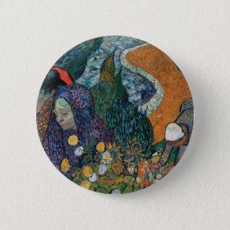 Vincent van Gogh - Damen von Arles Runder Button 5,1 Cm