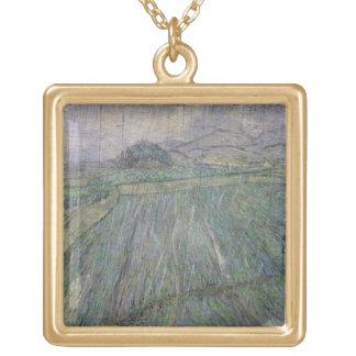 Vincent van Gogh | das Gewitter Vergoldete Kette