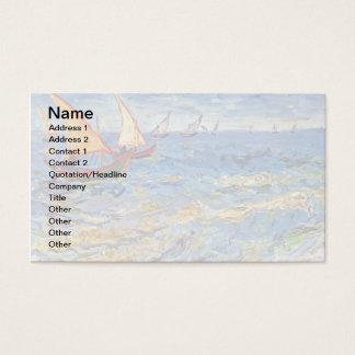 Vincent van Gogh - das Meer bei Saintes Maries Visitenkarte