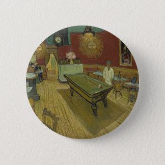 Vincent van Gogh das Nachtcafé-Malerei-Kunstwerk Runder Button 5,7 Cm