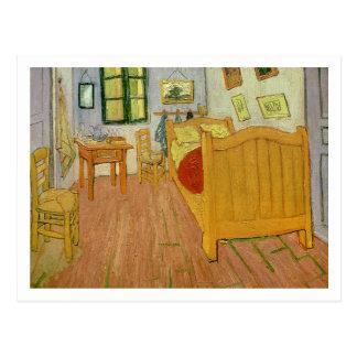 Vincent van Gogh   das Schlafzimmer, 1888 Postkarte