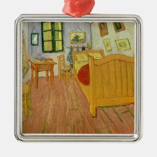 Vincent van Gogh | das Schlafzimmer, 1888 Silbernes Ornament