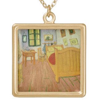 Vincent van Gogh | das Schlafzimmer, 1888 Vergoldete Kette