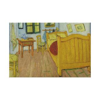 Vincent van Gogh - das Schlafzimmer Leinwanddruck