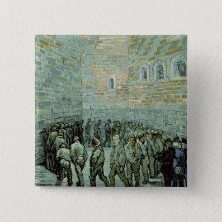 Vincent van Gogh | das Übungs-Yard Quadratischer Button 5,1 Cm