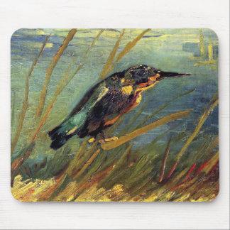 Vincent van Gogh - der Eisvogel - Mauspads