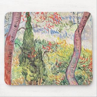 Vincent van Gogh | der Garten von St- Mousepad