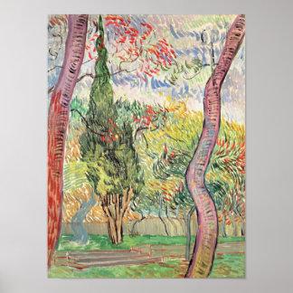 Vincent van Gogh | der Garten von St- Poster