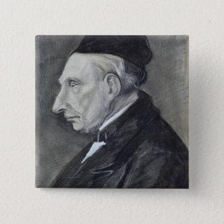 Vincent van Gogh | der Großvater des Künstlers Quadratischer Button 5,1 Cm