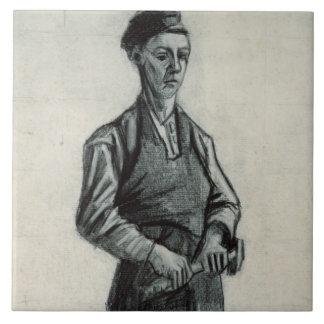 Vincent van Gogh | der junge Schmied, 1882 Fliese