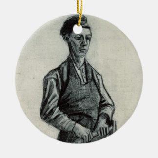 Vincent van Gogh | der junge Schmied, 1882 Keramik Ornament