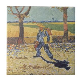 Vincent van Gogh - der Maler auf seiner Weise zu Keramikfliese
