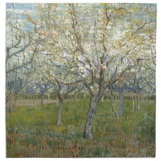 Vincent van Gogh der rosa Obstgarten - Serviette