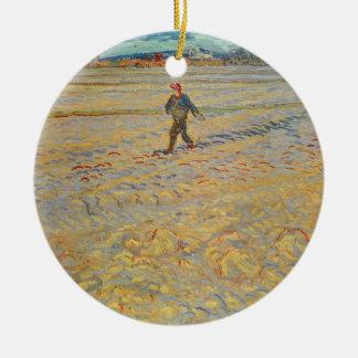 Vincent van Gogh | der Sower, 1888 Keramik Ornament