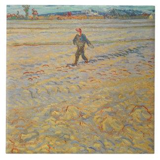 Vincent van Gogh | der Sower, 1888 Keramikfliese