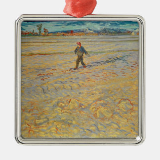 Vincent van Gogh | der Sower, 1888 Silbernes Ornament