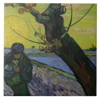 Vincent van Gogh - der Sower Fliese