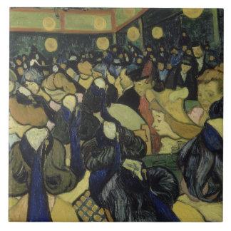Vincent van Gogh - der Tanz Hall in Arles Fliese
