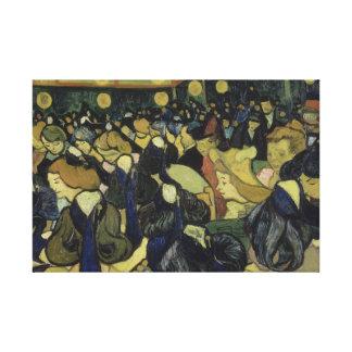 Vincent van Gogh - der Tanz Hall in Arles Leinwanddruck