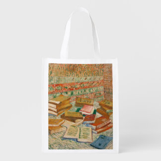 Vincent van Gogh | die gelben Bücher, 1887 Wiederverwendbare Einkaufstasche