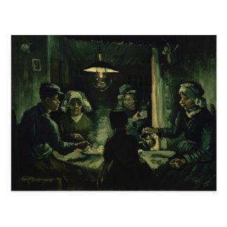 Vincent van Gogh die Kartoffel-Esser Postkarte