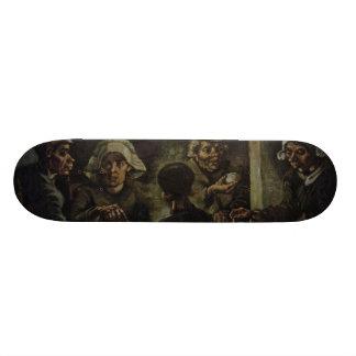 Vincent van Gogh - die Kartoffel-Esser Skateboarddeck