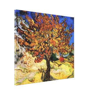 Vincent van Gogh - die Maulbeerbaum-schöne Kunst Leinwanddruck