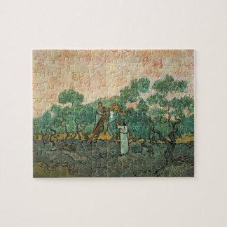Vincent van Gogh | die olivgrünen Pflücker, Puzzle