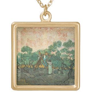 Vincent van Gogh | die olivgrünen Pflücker, Vergoldete Kette