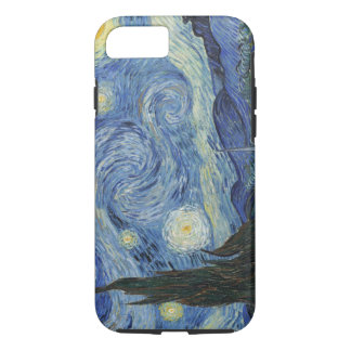 Vincent van Gogh | die sternenklare Nacht, im Juni iPhone 8/7 Hülle
