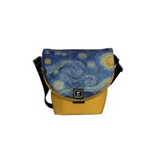 Vincent van Gogh | die sternenklare Nacht, im Juni Kuriertasche