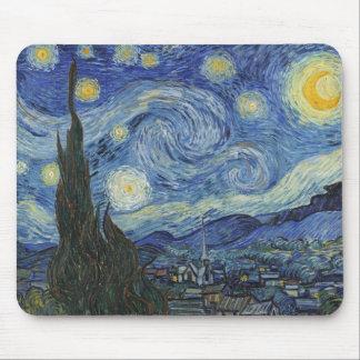 Vincent van Gogh | die sternenklare Nacht, im Juni Mousepads