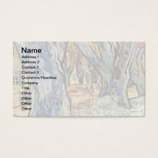Vincent van Gogh - die Straßen-Ausbesserer - Visitenkarte